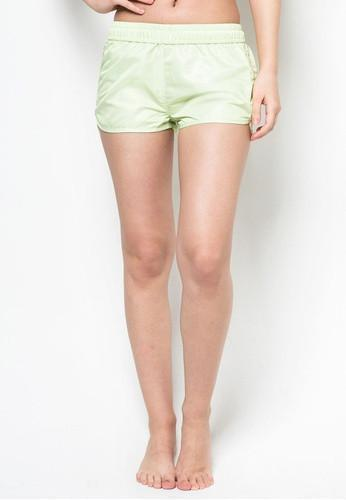 Women Beach Shorts in Lime - FUNFIT