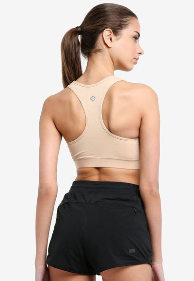 All Day Support Sports Bra in Beige (S - 3XL) - FUNFIT