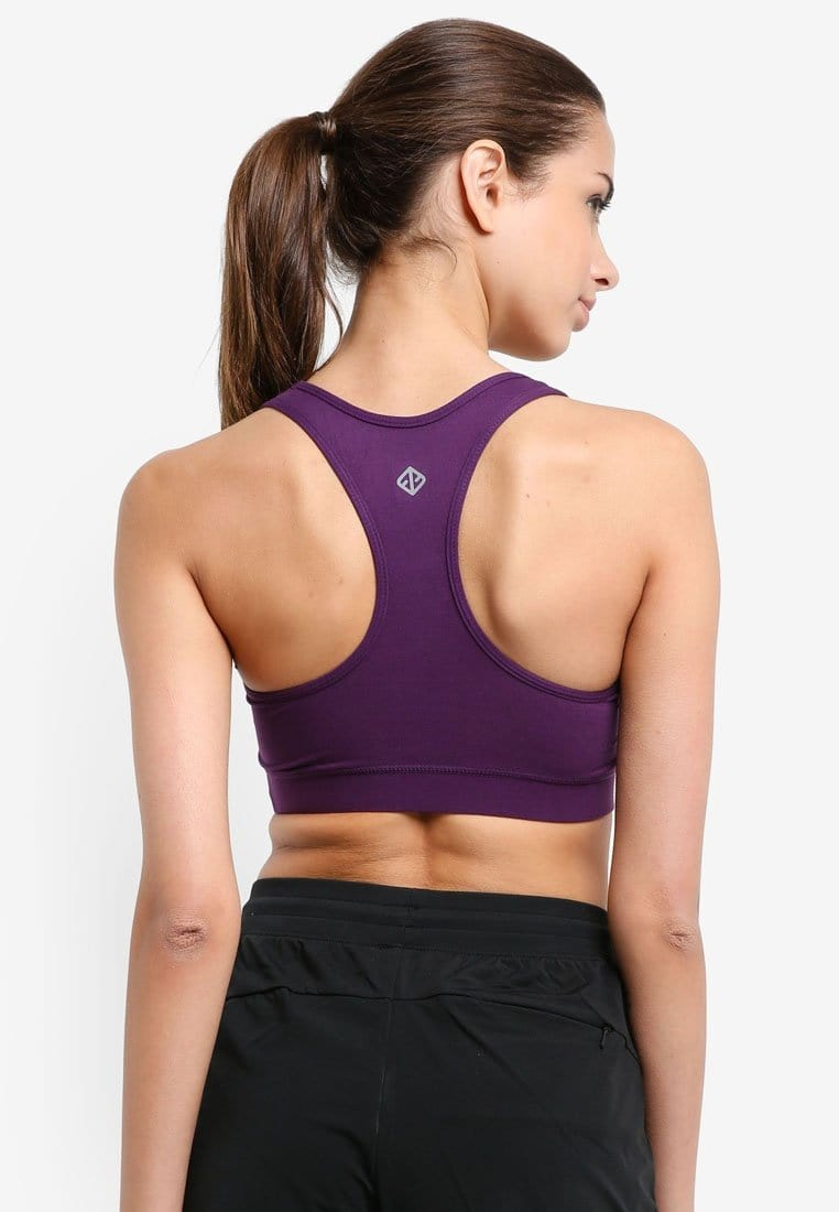 All Day Support Sports Bra in Purple (S - 3XL) - FUNFIT