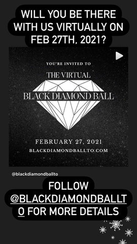 We are honoured to be apart of the BLACK DIAMOND BALL