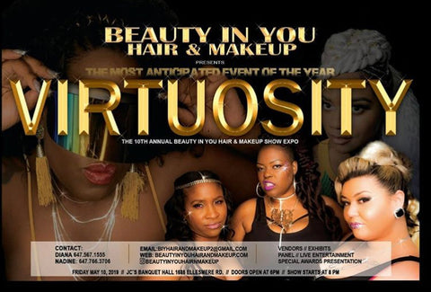 VIRTUOSITY HAIR AND BEAUTY SHOW on May 10th, 2019