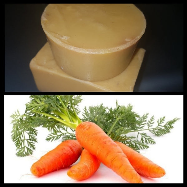 Carrot complexion soap