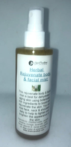 HERBAL REJUVENATING BODY AND FACIAL MIST