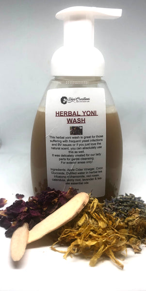 Herbal yoni wash