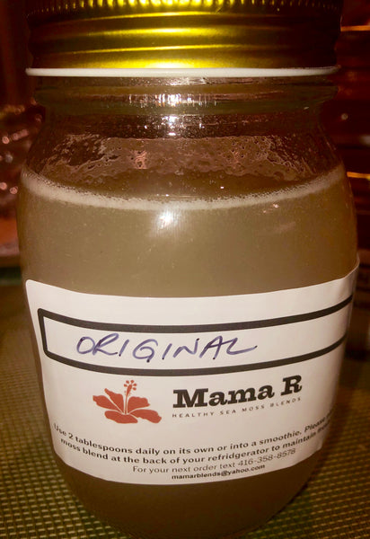 ORIGINAL SEA MOSS - UPCOMING NEW PRODUCT