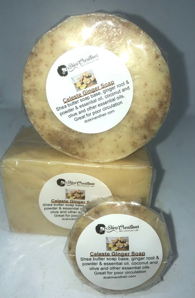 Celeste Ginger Therapeutic Soap