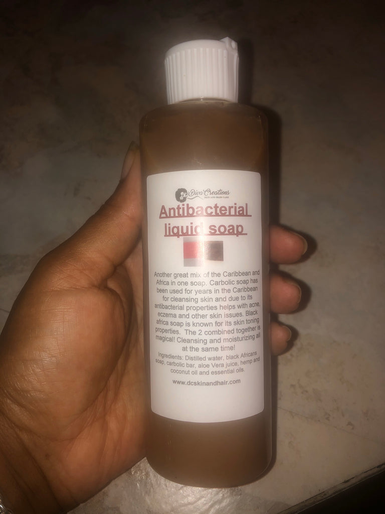 Antibacterial liquid soap