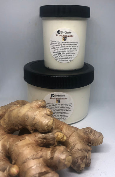 Ginger Body Butter