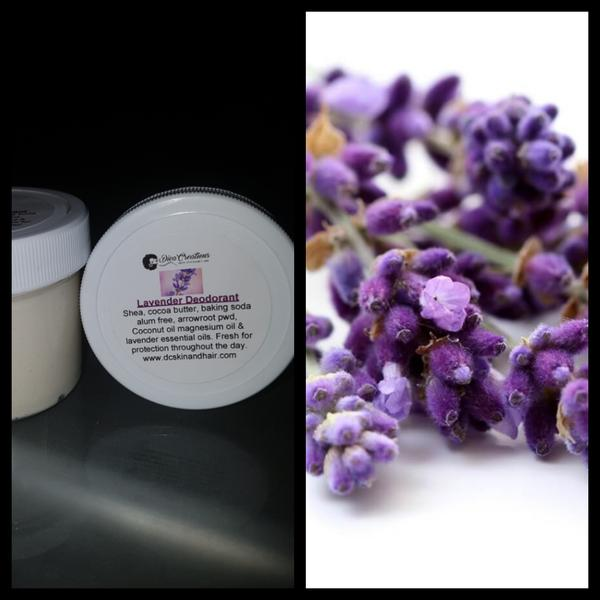 NEW! LAVENDER DEODORANT WITH MAGNESIUM OIL FOR DETOXED PITS ONLY