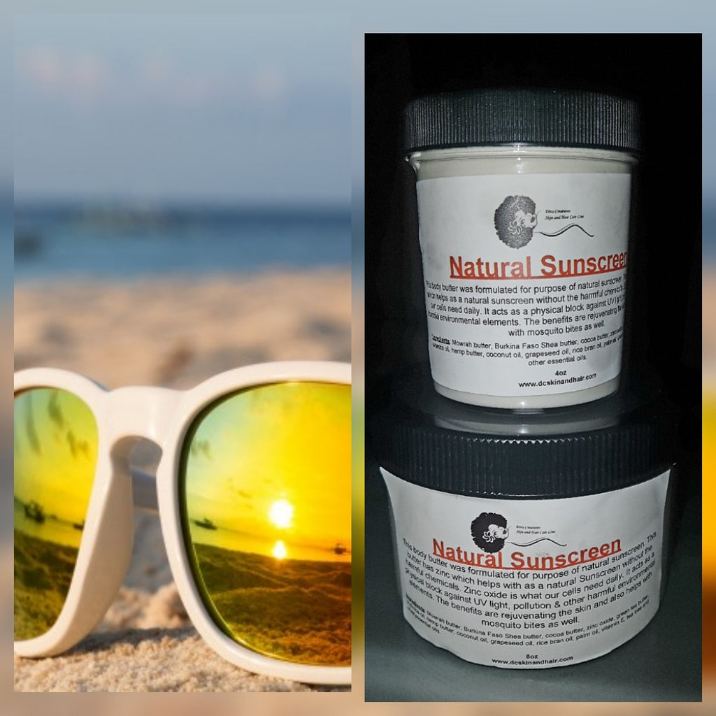 NEW PRODUCT ALERT...NATURAL SUNSCREEN