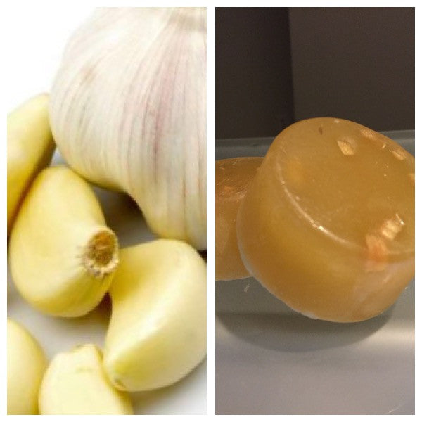 GARLIC ACNE SOAP, GREAT FOR ACNE PRONE SKIN OR YOU CAN USE AS A SPOT TREATMENT