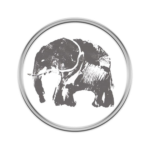 Elephant Pin Badge
