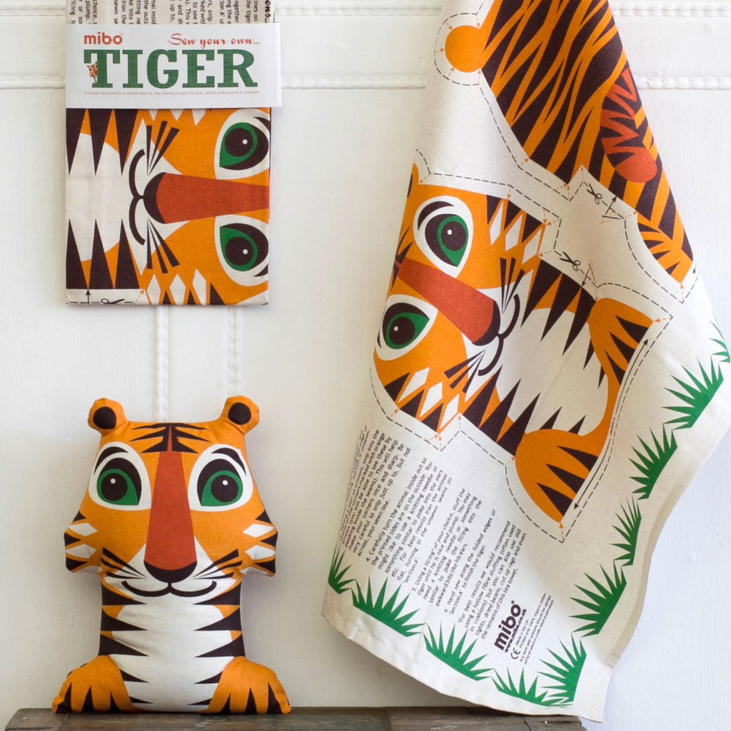 Roary Tiger Tea Towel