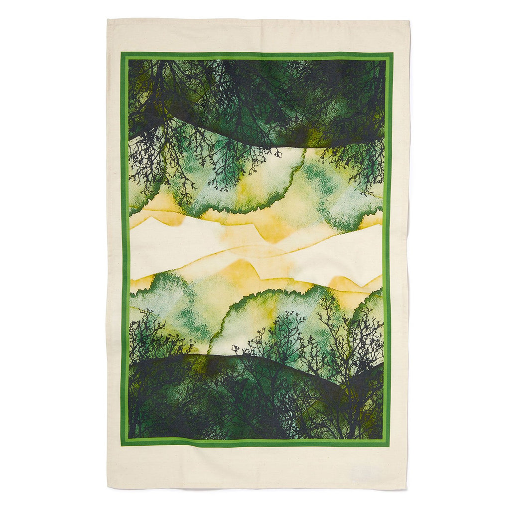 Sue Timney Tea Towel - Forest