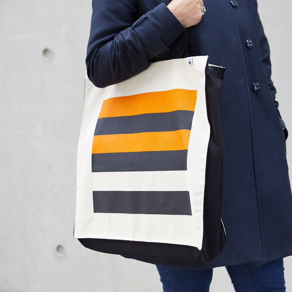 Tiger Stripe Deluxe Tote Bag