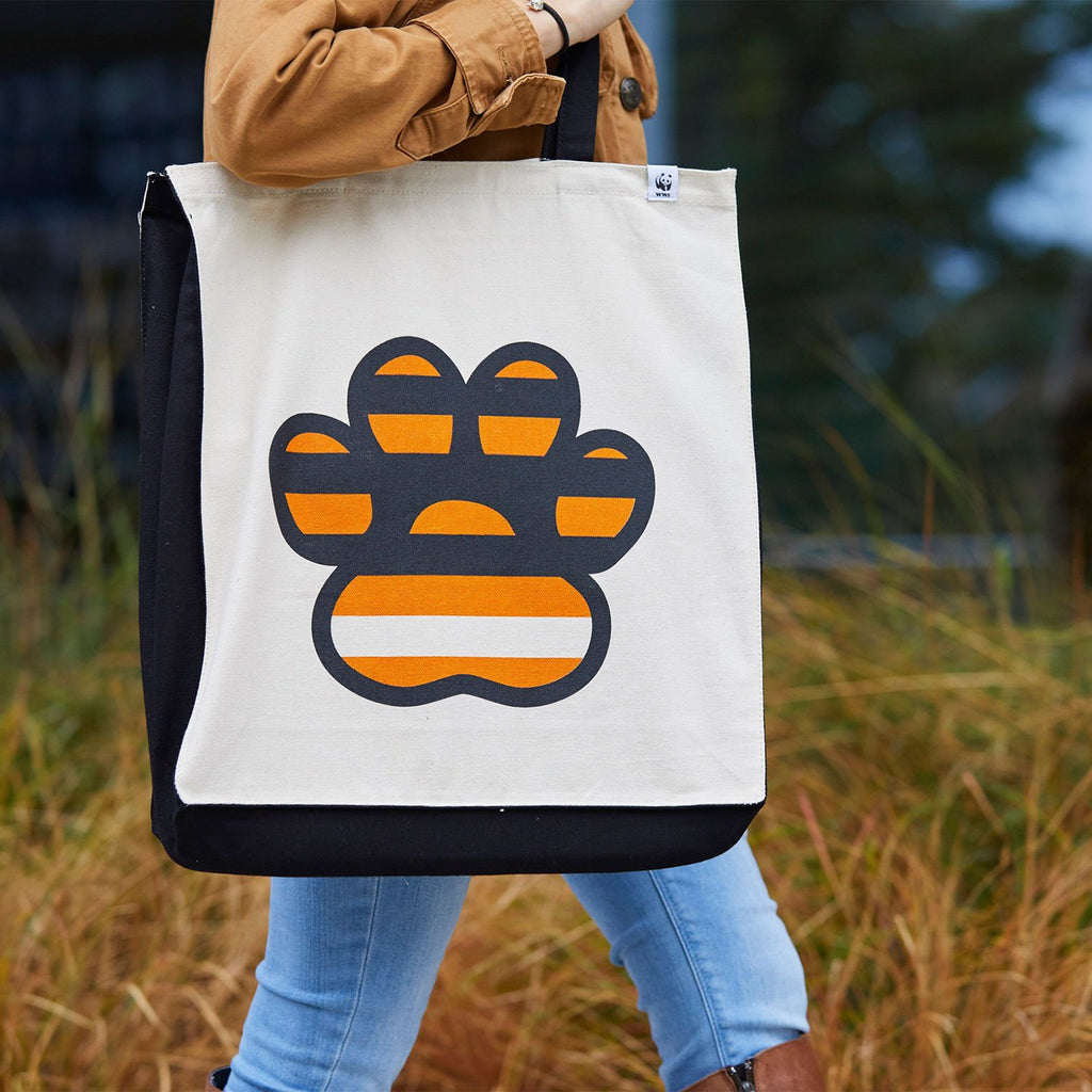 Tiger Paw Tote Bag
