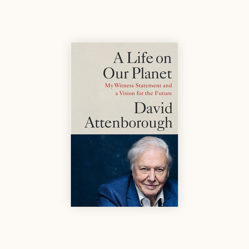 David Attenborough A Life on Our Planet Book