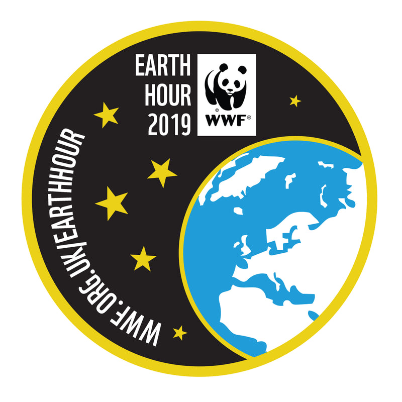 Earth Hour Sew On Badge 2019