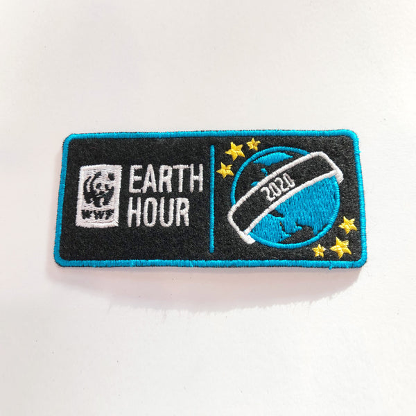 Earth Hour 2020 Sew On Badge