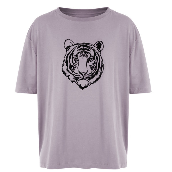 WWF x Zaggora Collection - Men's Tiger Tee Grey