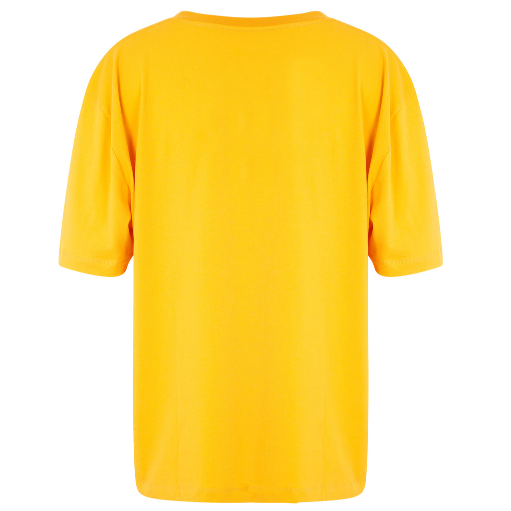 WWF x Zaggora Collection - Men's Tiger Tee Yellow