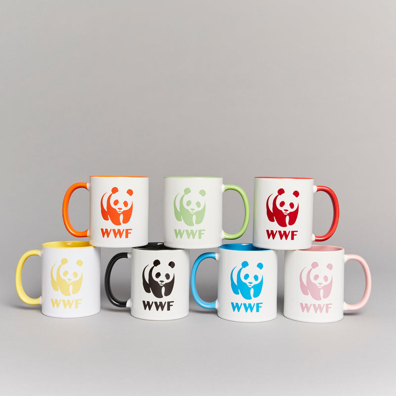 WWF Coloured Insert Mug