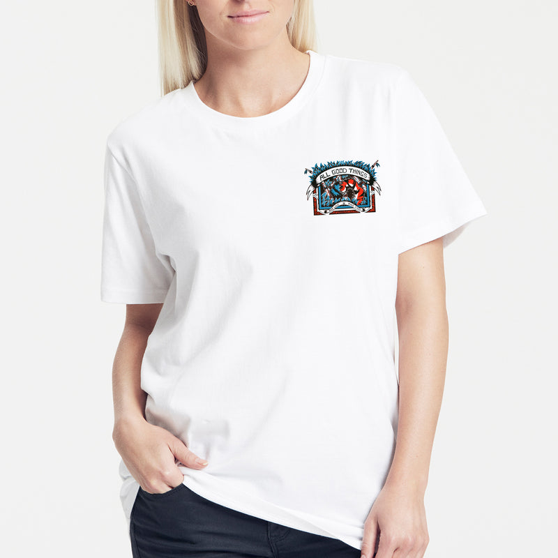 Ollie Terry Unisex T-shirt (Pocket Print)