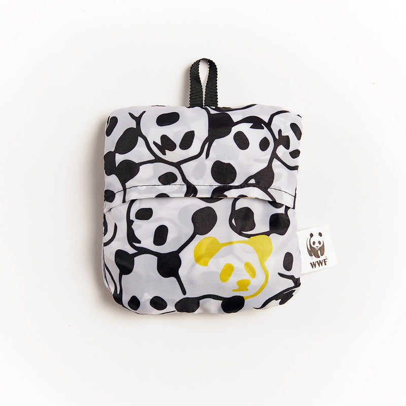 Panda RPET folding backpack