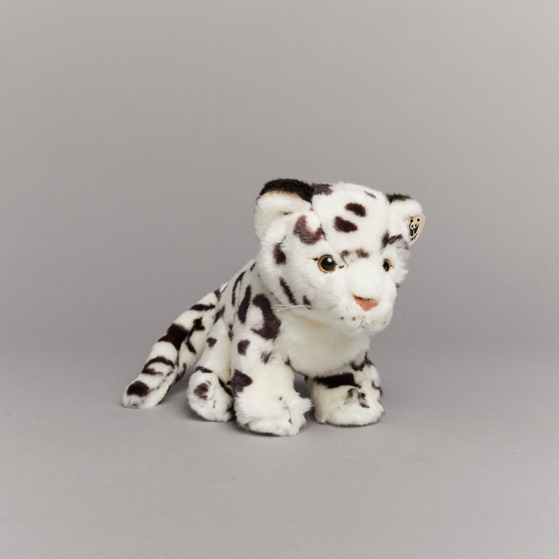 Snow Leopard Soft Toy