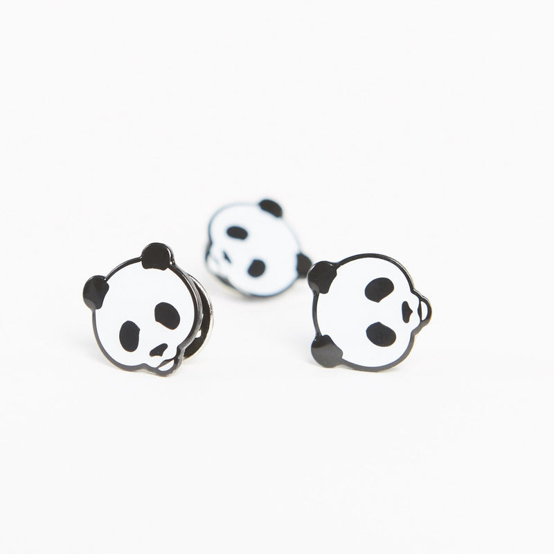 Panda Face Badge