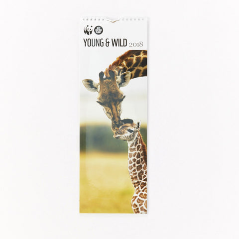 Young and Wild Slim Calendar 2018