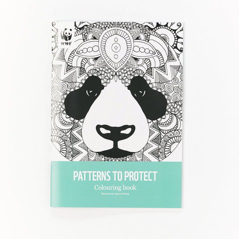 Panda Colouring Book