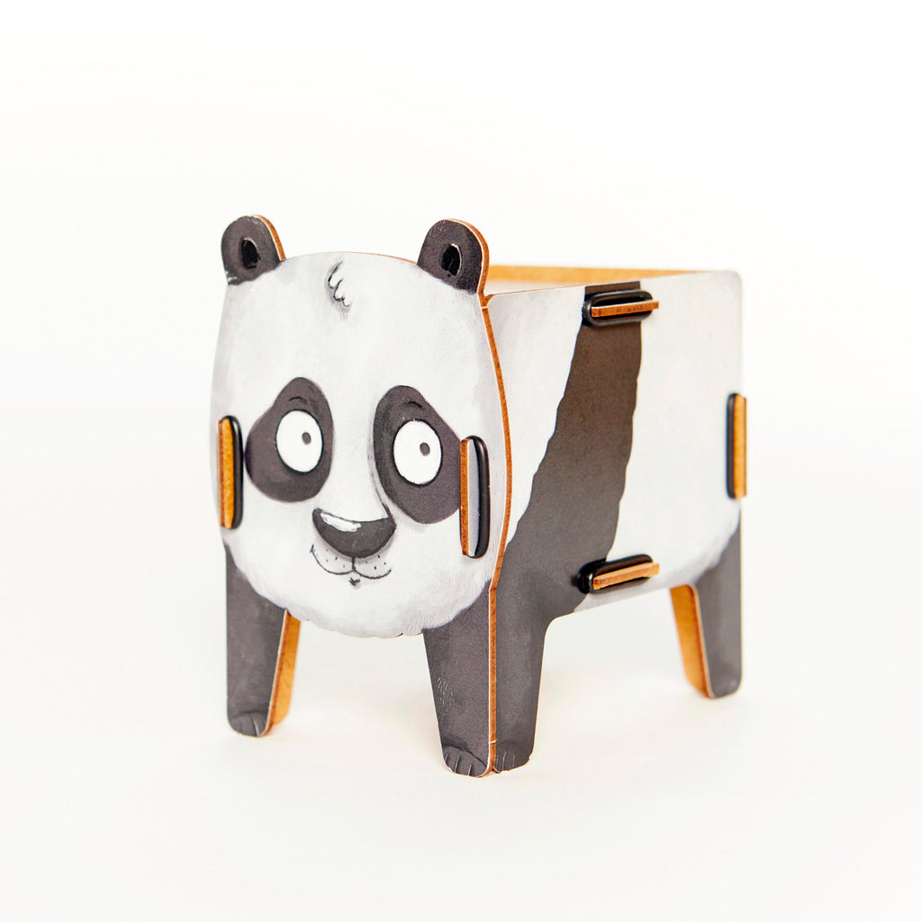 Wooden Animal Money Box