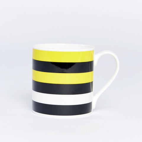 Climate Change Stripe Bone China Mug