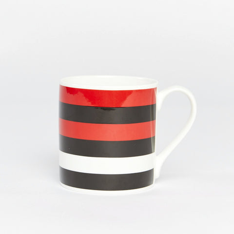 Panda Stripe Bone China Mug