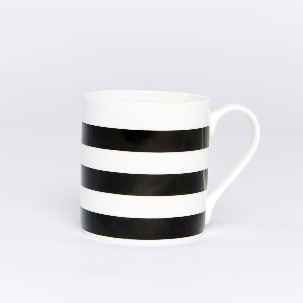 Set of 6 Striped Mugs