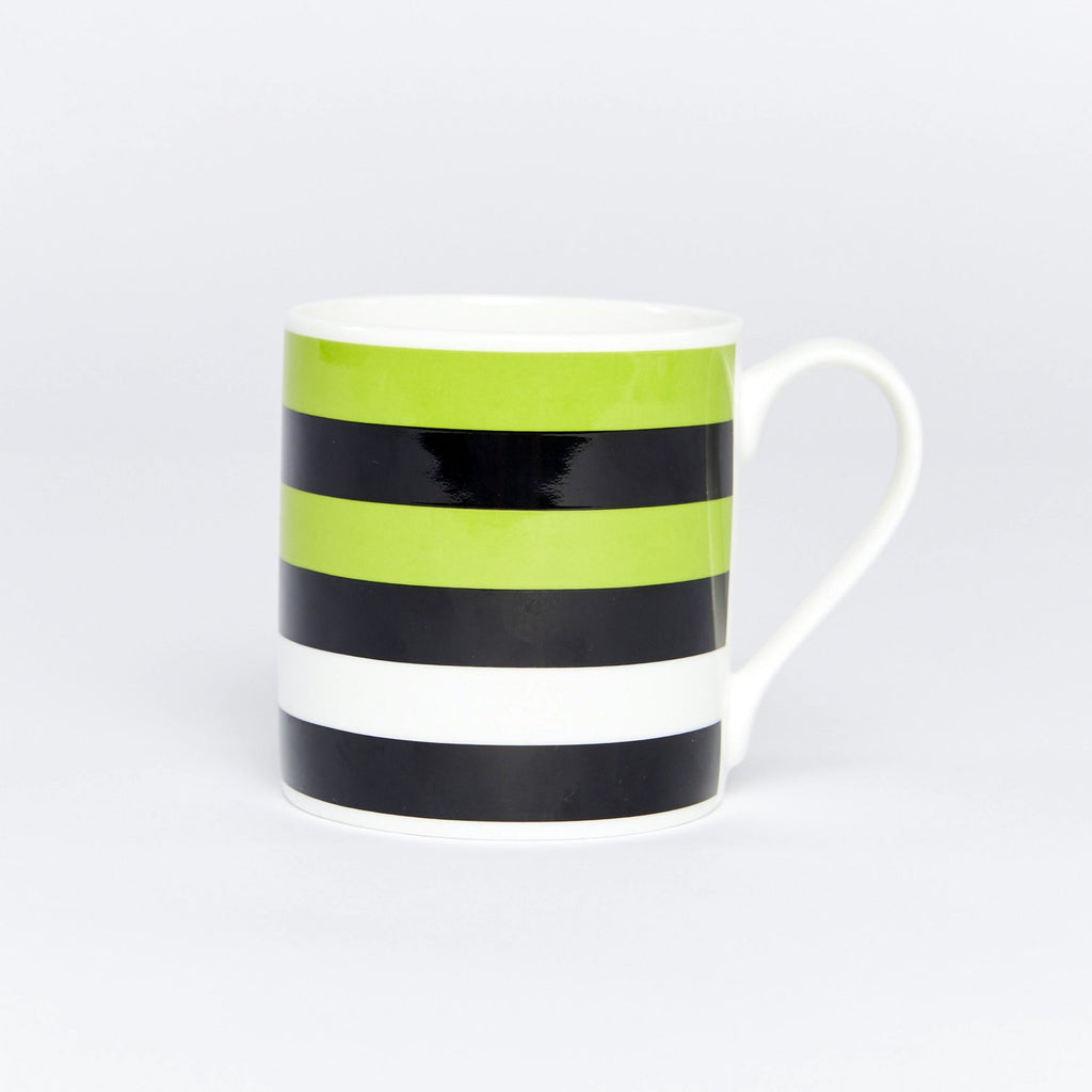 Forest Stripe Bone China Mug