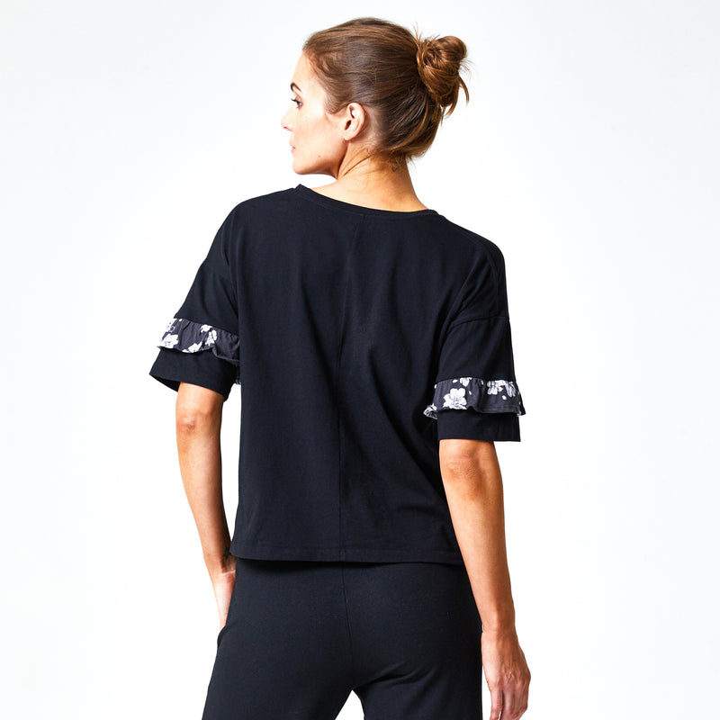 WWF x Zaggora - Wild at Heart Tee Black