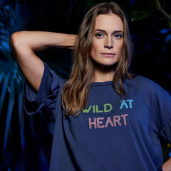WWF x Zaggora - Wild at Heart Tee Navy