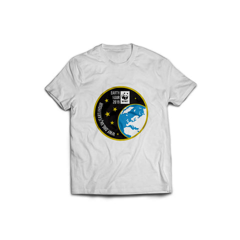 Earth Hour 2019 Badge T-shirt