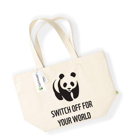 Earth Hour 2019 Switch For Your World Deluxe Tote
