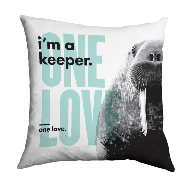 Lydia French 'One Love' Cushion Cover