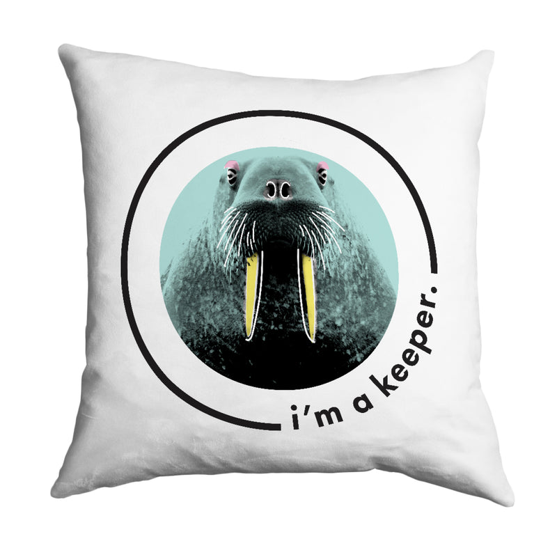 Lydia French 'I'm a Keeper' Cushion Cover