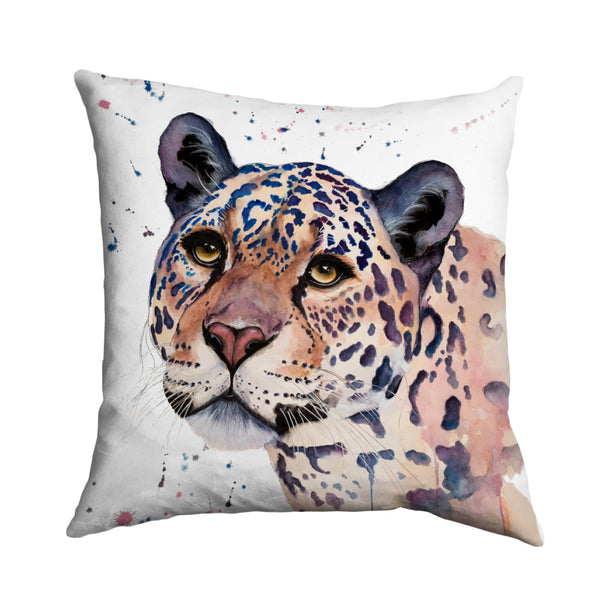 Elizabeth Grant Jaguar Cushion Cover