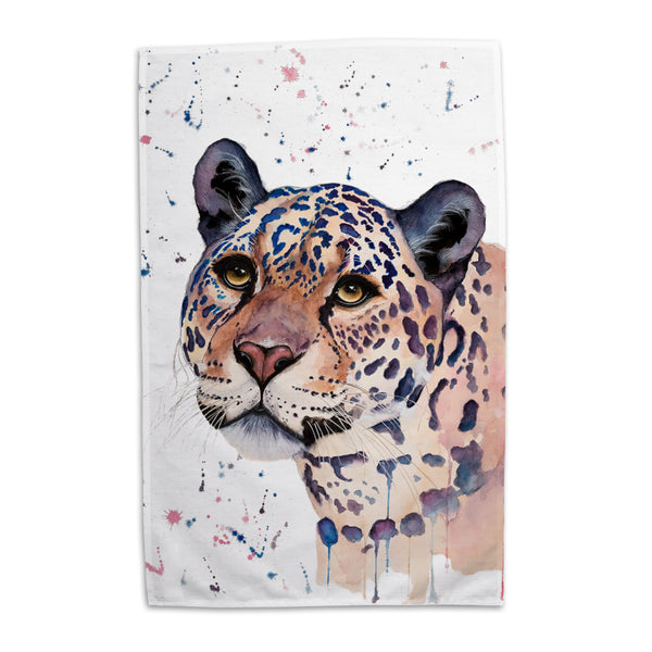 Elizabeth Grant Jaguar Tea Towel