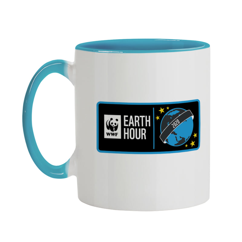 Earth Hour 2020 Coloured Mug