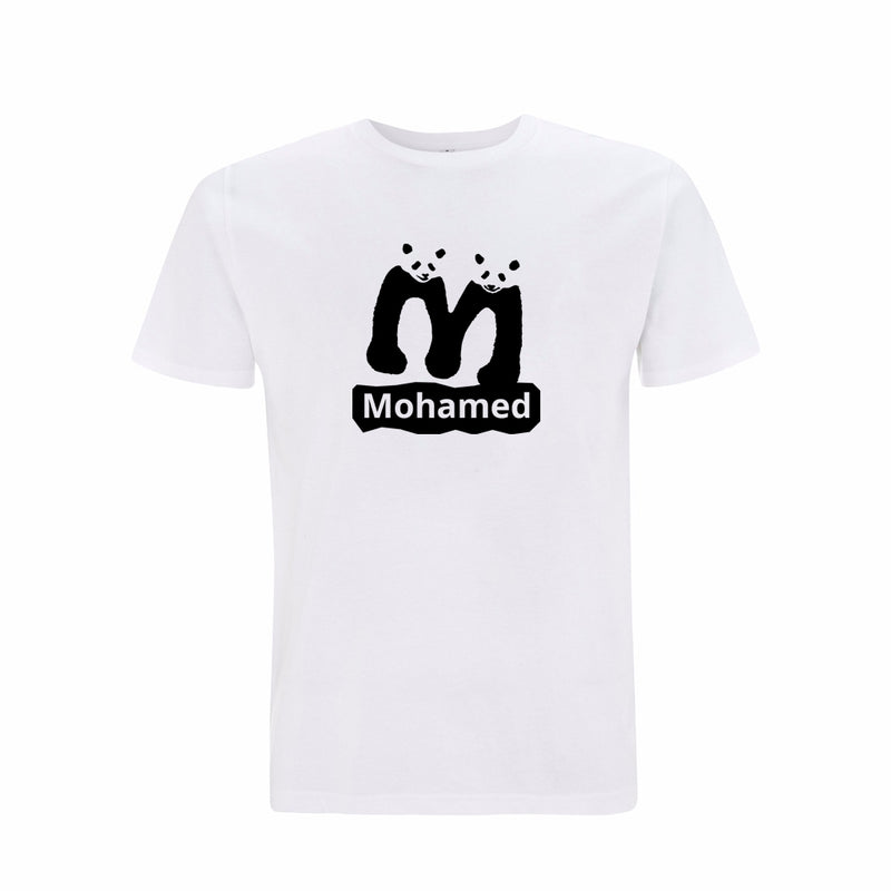 Personalised Organic T-shirt - Letter M