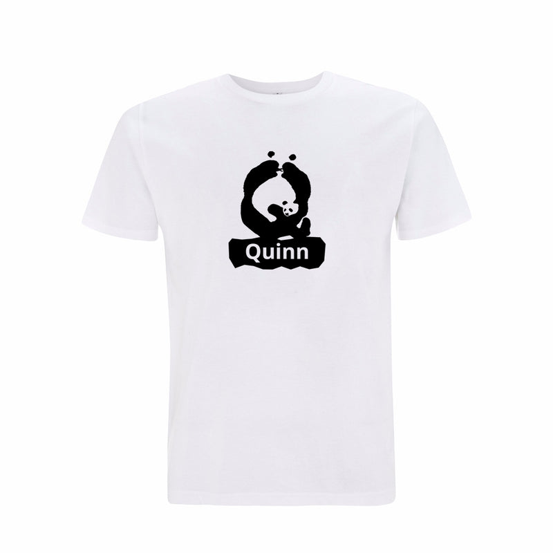 Personalised Organic T-shirt - Letter Q