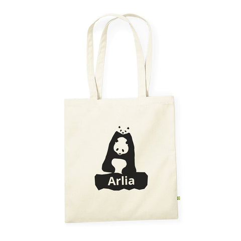 Personalised Organic Tote Bag