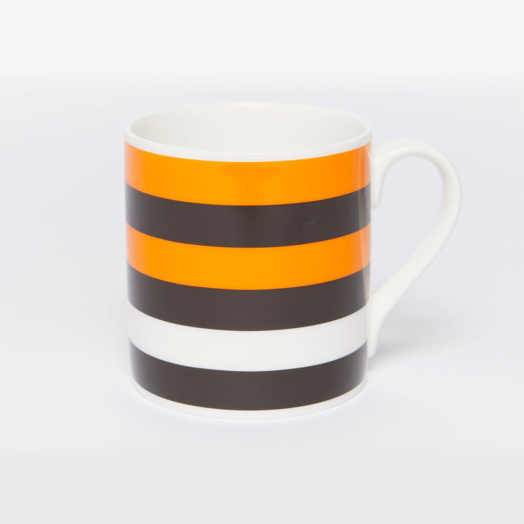 Tiger Stripe Bone China Mug